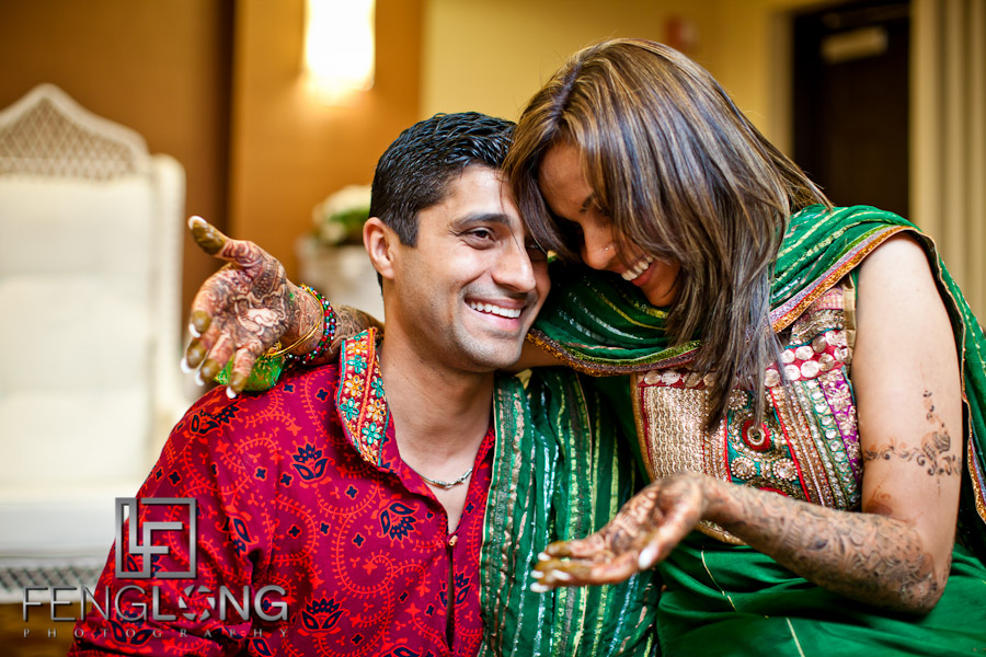 Bride & Groom | Shamz & Sana's Wedding Day 1 | Hyatt Place Atlanta Airport South | Atlanta Indian Photographer