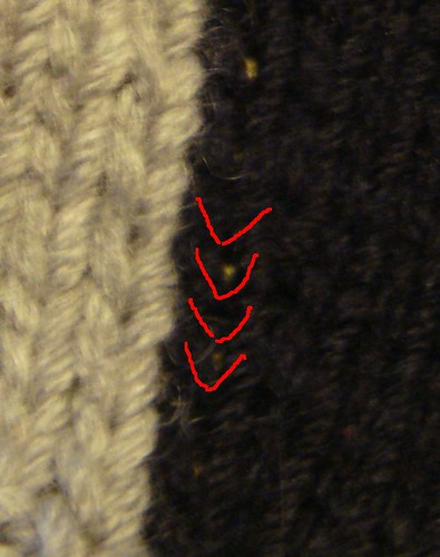 How to steek - crochet method