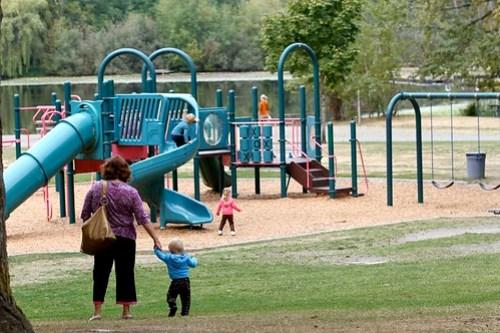 Five Mile Lake Park play area