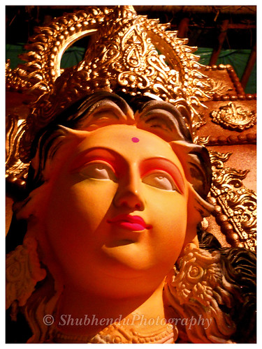 Preparing for a Mother Durga. . . . by ShubhenduPhotography