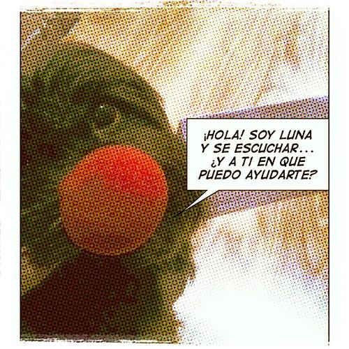 Luna con mensaje by rutroncal