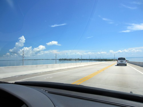 driving up the keys