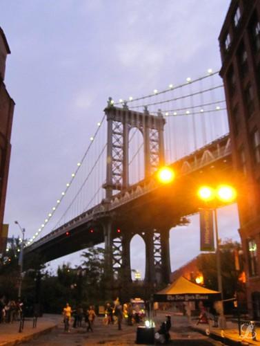 Manhattan Bridge at Dusk