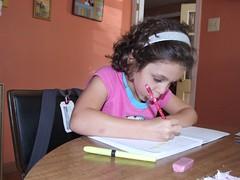 Homework, second grade edition.