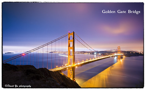Golden Gate Bridge of San Francisco by davidyuweb