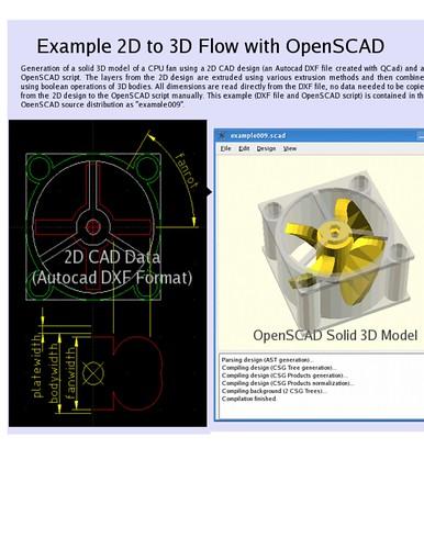 openscad 2D to 3D