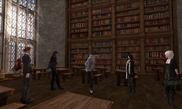 History of Magic classroom