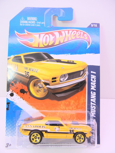 hot wheels '70 ford mustang mach 1 (1)