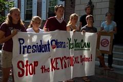 9_13_11 Harvard Student Protest Against Keysto...