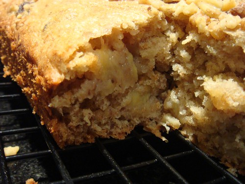 Banana Nut Snack Cake_Inside