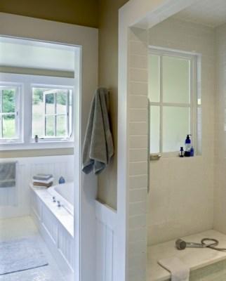 window in shower Smith & Vansant architects