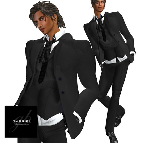 NEW @ MIMI'S CHOICE 3 Piece suit , Gabriel by mimi.juneau *Mimi's Choice*