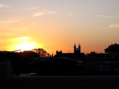 Philadelphia sunsets