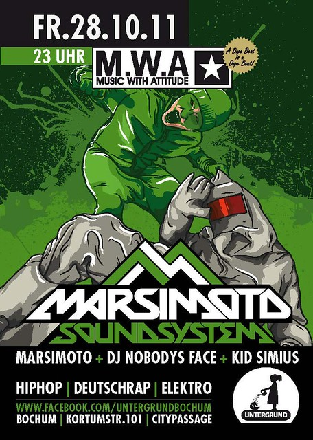 marsimoto @ m.w.a im untergrund