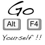 Wordless Wednesday #21 : Alt + F4