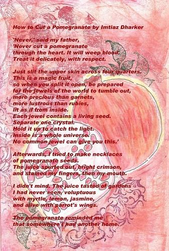 pomegranate-poem