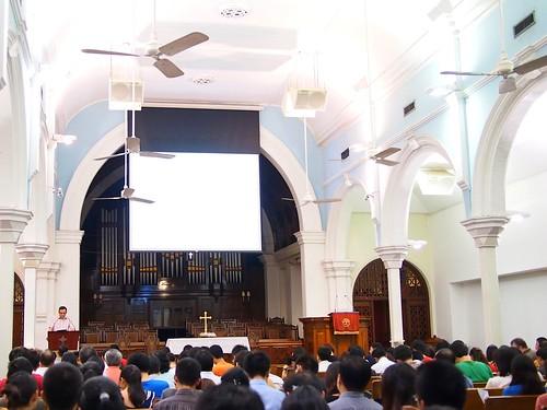 John Woodhouse on 2 Samuel, Orchard Road Presbyterian Church, Singapore