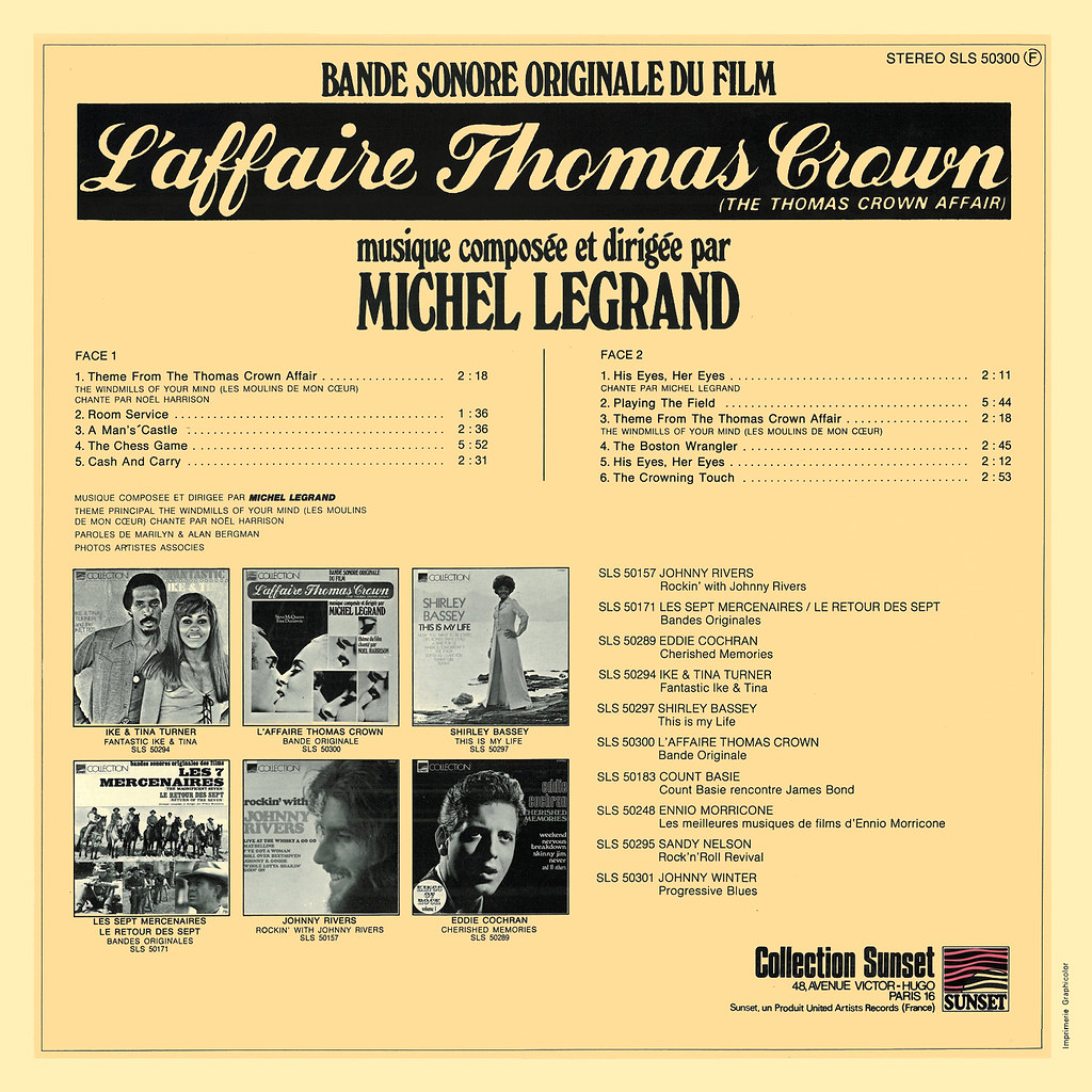 Michel Legrand - The Thoms Crown Affair