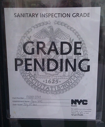 The Other NYC Eatery Hygiene Grade