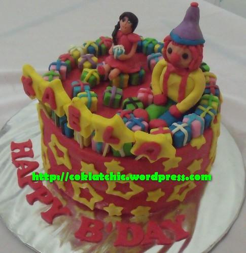 Cake badut