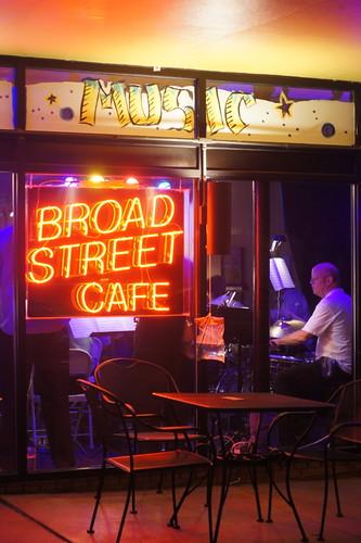 Fiesta Jazz Orchestra, Broad Street Cafe, Durham NC, 09/25/11