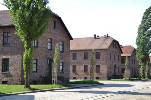 Barracones Auschwitz I