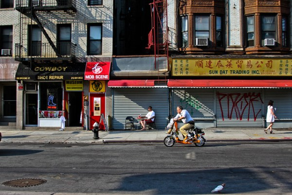 where Nolita, Little Italy and Chinatown meet