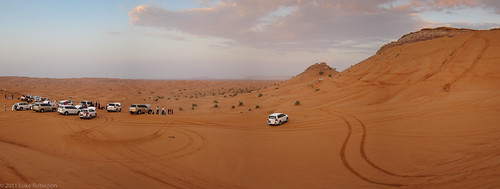 Desert Safari - Dune Bashing Panorama