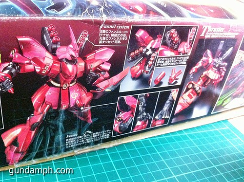 MG Sazabi Metallic Coating (Titanium-Like Finish) (4)
