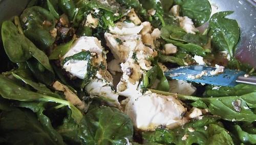 Tofu Spinach Calzone