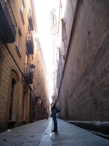 Barri Gotic D in Alley