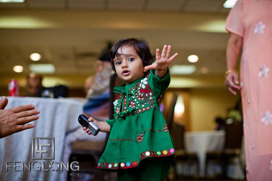 Youngest Guest | Shamz & Sana's Wedding Day 1 | Hyatt Place Atlanta Airport South | Atlanta Indian Photographer
