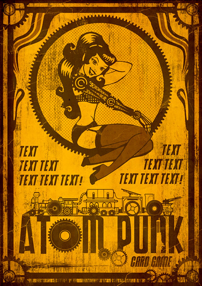 Atompunk Front Cover