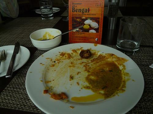bengali plate over