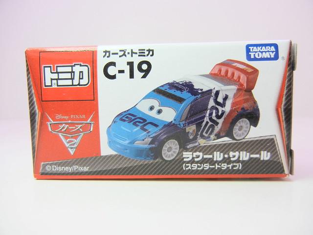 disney cars 2 tomica c-19 raoul caroul (1)