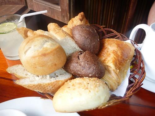Col's breakfast in Hoi An