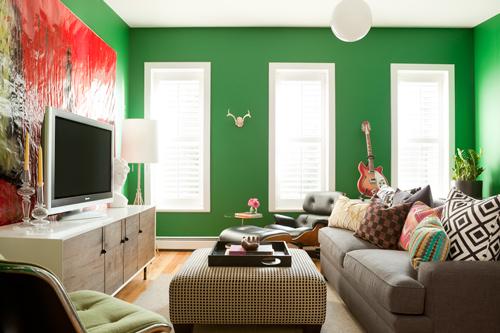 Designer Fluff Pillows + Gorgeous Rooms
