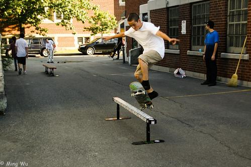 Glebe Streets: Skateboarding