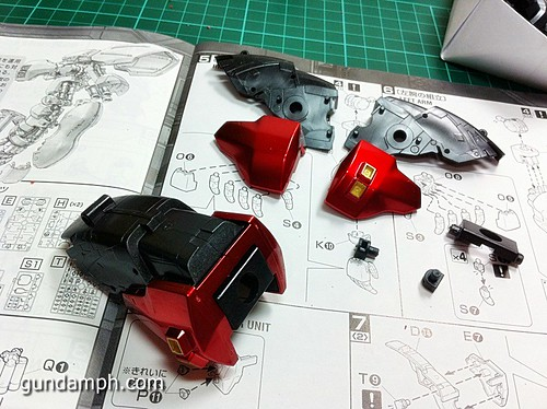 MG Sazabi Metallic Coating (Titanium-Like Finish) (33)