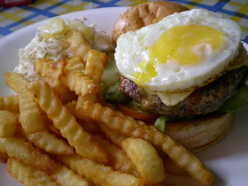 SecretGarden cheese burger
