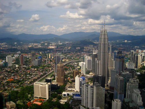 view of kuala lumpur featuring the petronus towers