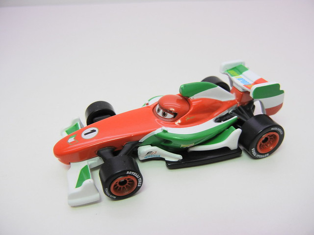 disney cars 2 tomica francesco bernoulli launcher (5)