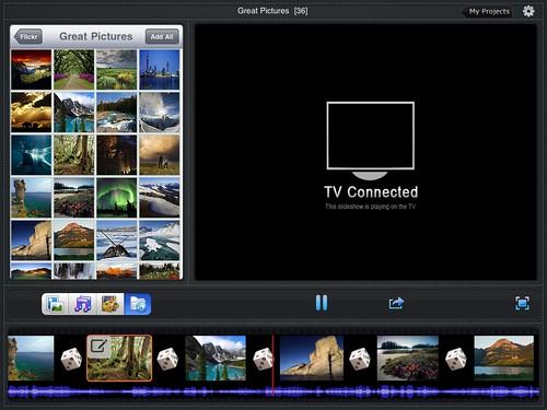 Flickr Slideshow on iPad