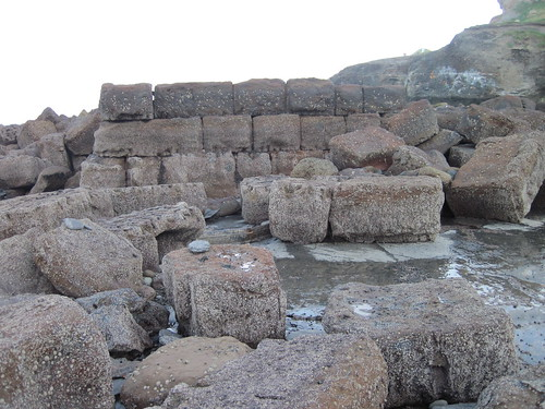Breakwater Saltwick Bay