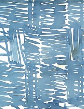 Luli Sanchez blue grey ribbon