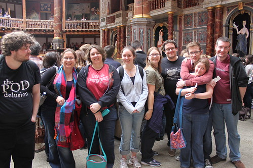 Expeditionary excursion to Elizabethan Theatre