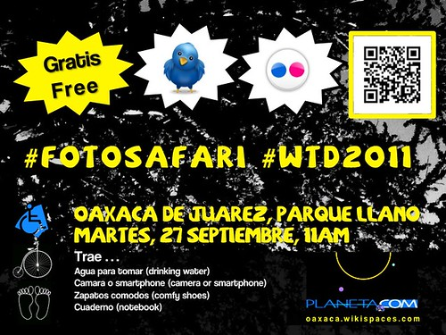 Invitation to World Tourism Day 2011 Photo Safari