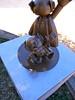 パーマン銅像 ブービー(背面)
