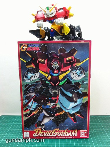 1 144 Devil Gundam Review OOB Build (2)