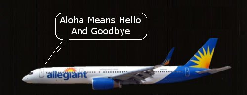 Allegiant Says Aloha to Long Beach